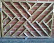 Decking Cross-hatch Panel